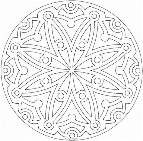 mandala coloring pages therapy printable mandala coloring pages