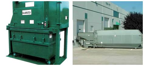 trash compactors efficient and effective use of industrial trash compactors