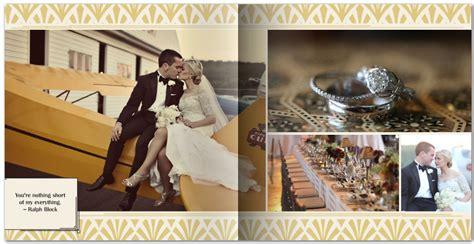 Wedding Album Ideas by Deco Gatsby Inspired Wedding Ideas