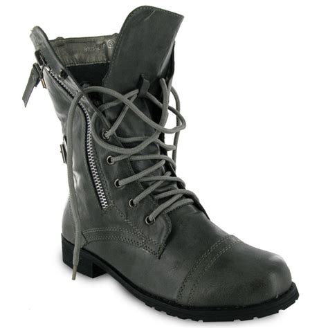 new army boots new grey army combat boots size 8