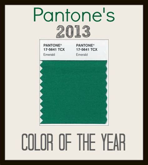 pantones color of the year emerald pantone s 2013 color of the year organize and