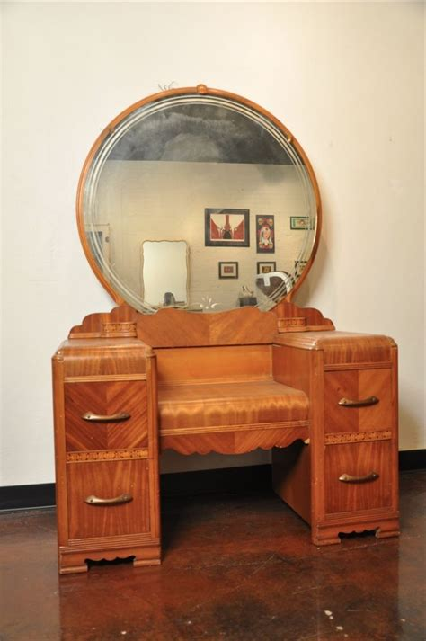 Bedroom Set With Vanity Dresser | vintage bedroom set vanity dresser