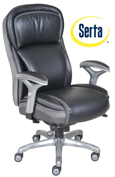 serta office furniture serta at home smart layers premium elite manager chair