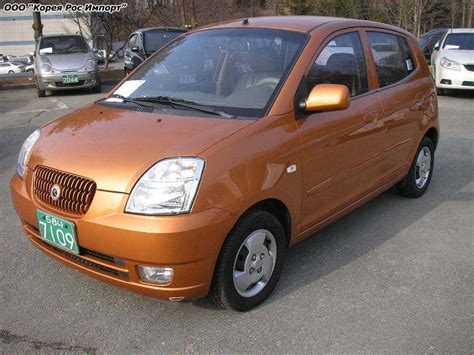 Kia Morning Car 2004 Kia Morning Wallpapers 1 0l Automatic For Sale
