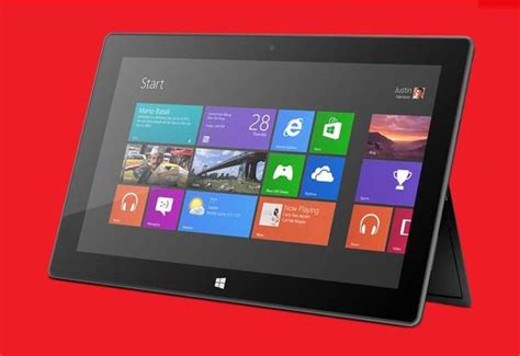 Microsoft Tablet Windows 8 microsoft surface windows 8 tablet with windows rt now