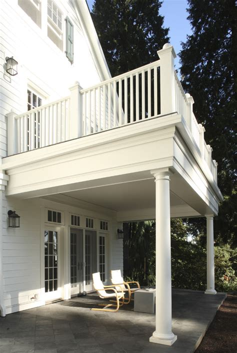 1st floor veranda design how can i build the covered porch with a balcony on top