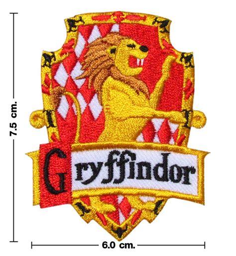 printable hogwarts house badges harry potter house gryffindor crest emblem embroidery