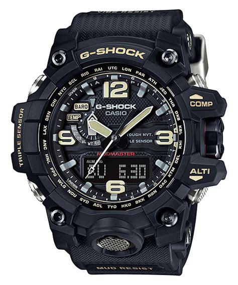 G Shock Gwg Black Jarum Green g shock mudmaster gwg 1000 all models released