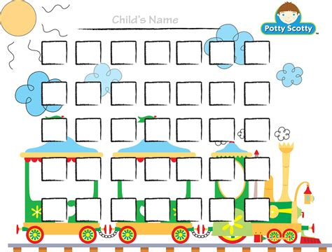 potty reward chart template potty charts for children activity shelter