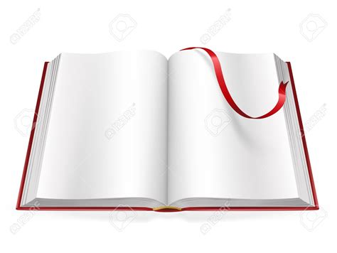 picture of an open book with blank pages open book with blank pages clipart 64