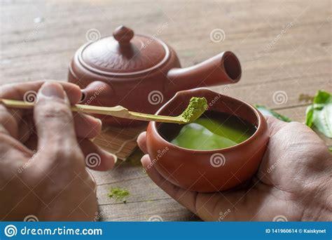 matcha green tea  japanese tea set ceramic teapot