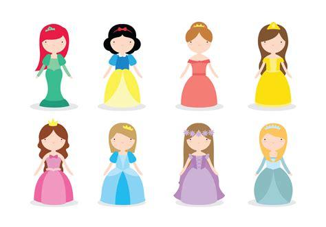 Karpet Karakter Tsum Tsum disney princess vectors free vector stock