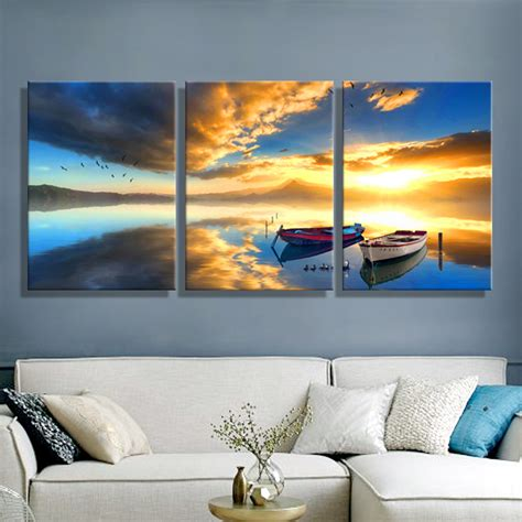 ship decor home aliexpress com buy oil painting canvas ships sea
