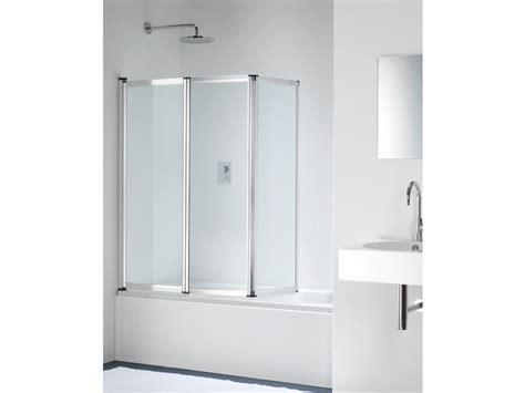 parete pieghevole per vasca da bagno parete per vasca pieghevole in vetro point pt by provex