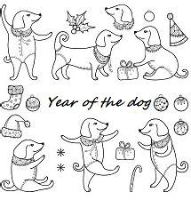 coloring pages year of the dog chinese new year coloring page free coloring pages online
