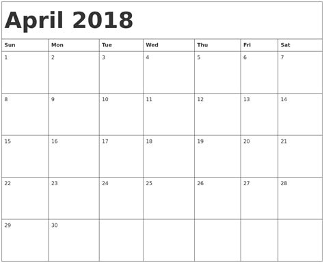 printable monthly calendar without weekends march 2018 calendar with holidays canada april 2018