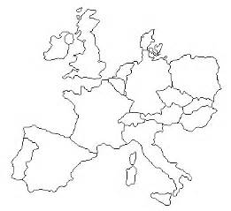 Europe Map Outline by 301 Moved Permanently