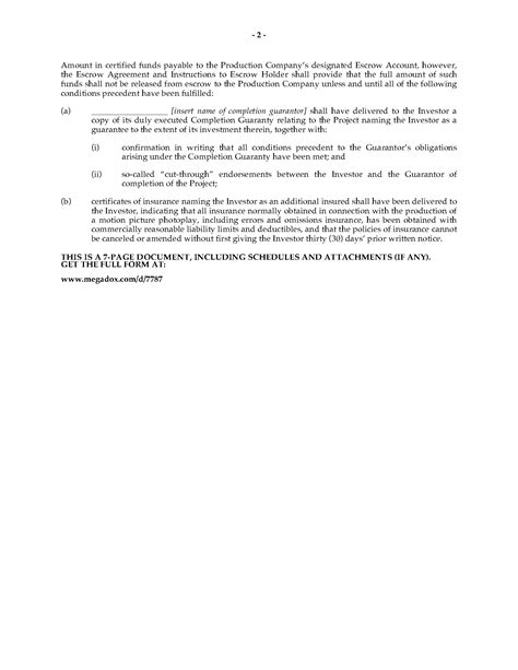 investor financing agreement template motion picture investor financing agreement forms