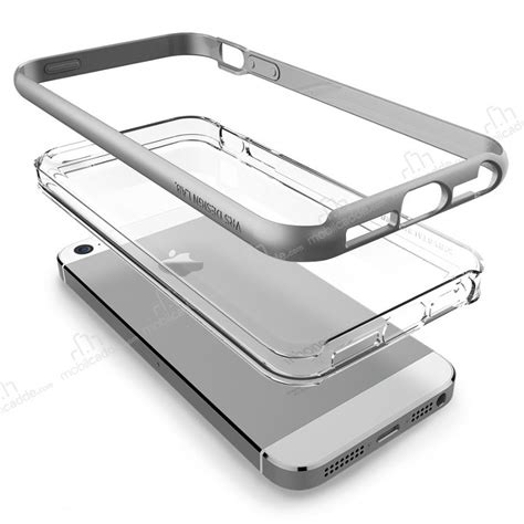 Verus Bumper For Iphone 7 Light Silver Perak verus bumper iphone se 5 5s light silver k箟l箟f
