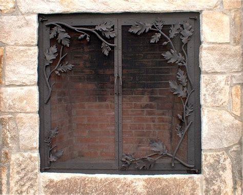 fireplace screens doors and tools