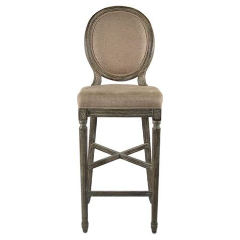 country bar stools medallion oak country bar stool in copper linen