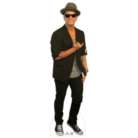 small biography of bruno mars cardboard cutouts of musicians groups and singers