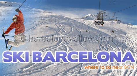 barcelona 2017 ski resorts near barcelona