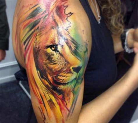reggae lion tattoo by adam kremer photo no 13880