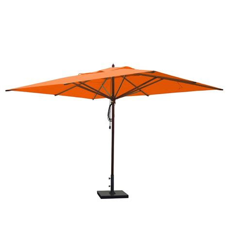 13 Foot Patio Umbrella Greencorner Umbrellas Rc1013qs2 Mahogany 10 Ft X 13 Ft Rectangular Umbrella Atg Stores