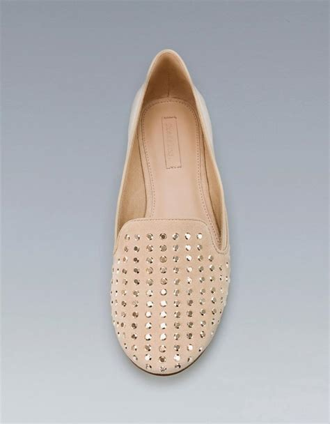 Zara E Gift Card Email - zara studded slipper flats shoes black red taupe ebay