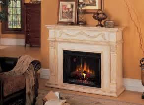 heater electric insert in fireplace on custom