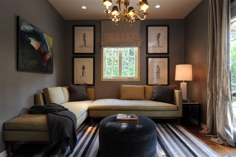 Ideas For A Den Room by Sophisticated Den Transitional Family Room New