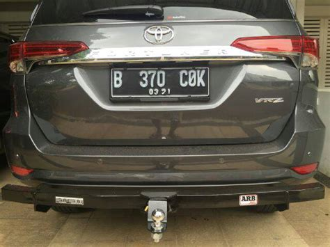 Karpet Bagasi Belakang Fortuner 2016 Trunktray All New Fortuner 2016 jual towing bar all new fortuner 2016 auto parts ind di