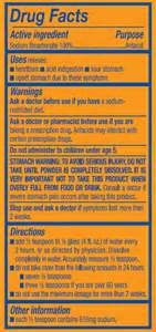 Arm amp hammer baking soda warning label good advice to follow when you