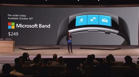 Microsoft Band Malaysia microsoft unveils new microsoft band preorder begins today for us 249 lowyat net