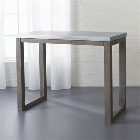 Table Counter small counter height table cb2