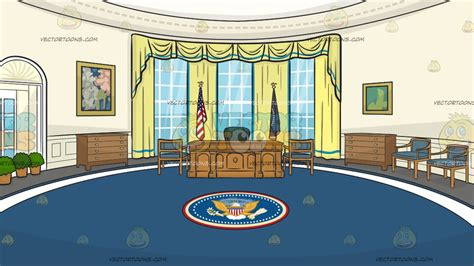 oval office wallpaper the oval office background cartoon clipart vector toons