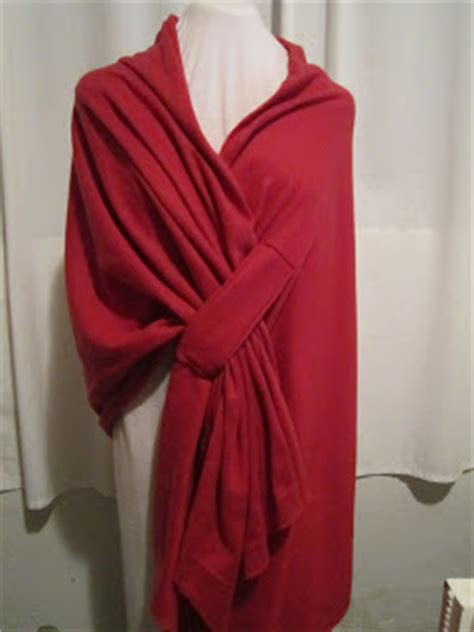 pattern for a fabric shawl home living easy to make fleece shawls