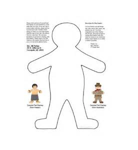 Flat Stanley Template by 37 Flat Stanley Templates Letter Exles Free