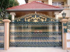 boundary wall gate design