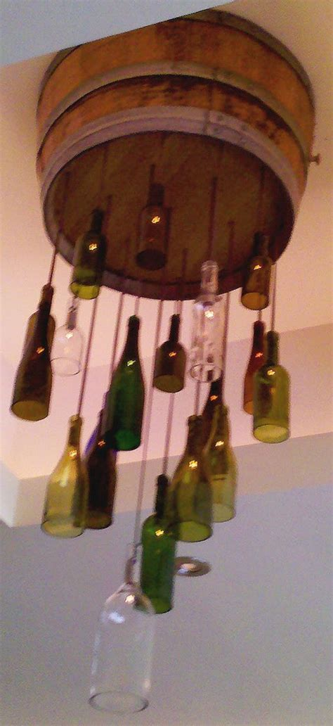 Wine Bottle Light Fixture Diy Crafting With Style Wine Bottle Light Fixtures Unique Crafting Jars And Caves