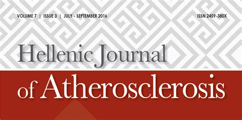hellenic journal of atherosclerosis volume 7 issue 3