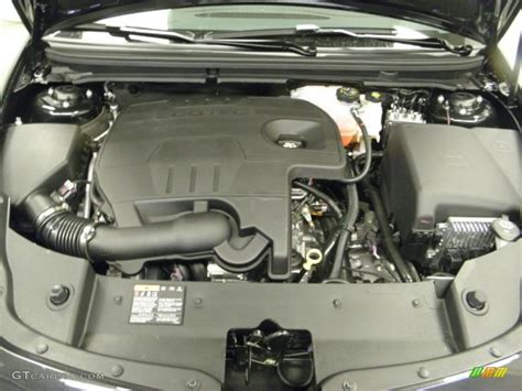2012 Malibu Engine by 2012 Chevrolet Malibu Lt 2 4 Liter Dohc 16 Valve Vvt