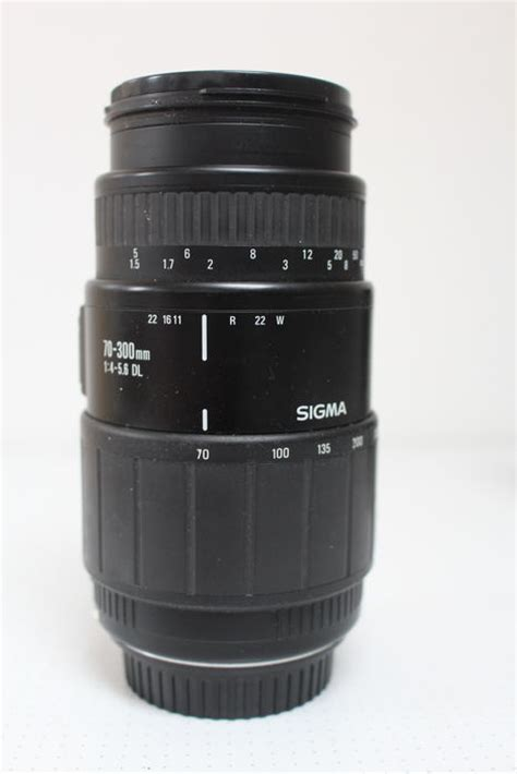 Sigma 70 300 Canon Sigma Zoom Lens 70 300 For Canon Catawiki