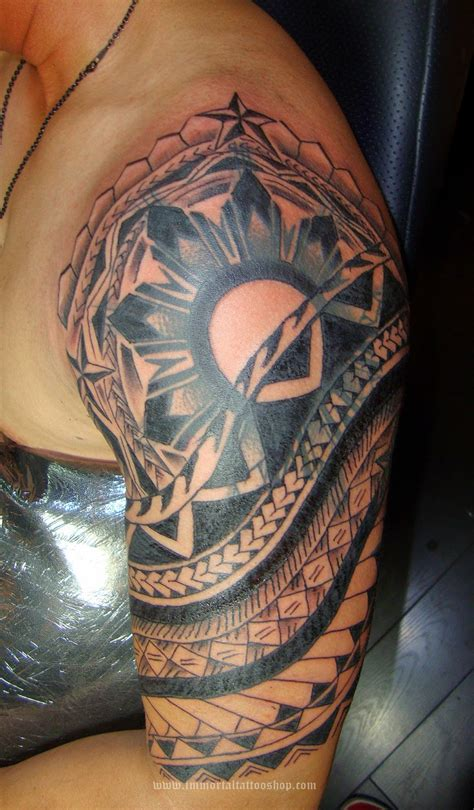 filipino tribal tattoo meaning manila australian tribal