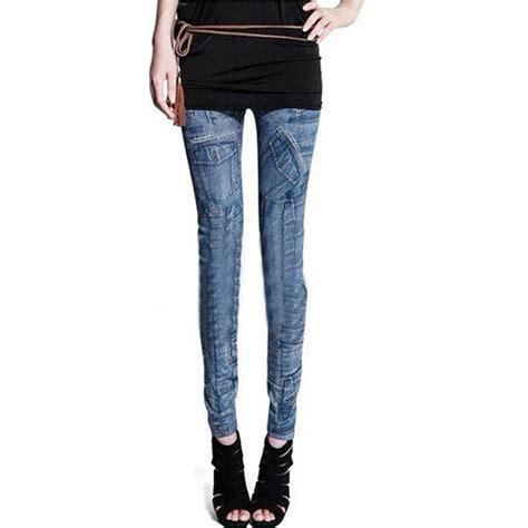 Celana Legging Wanita Lycra jual legging printing travelina model biru present