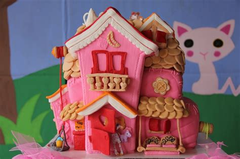 lalaloopsy house lalaloopsy cake house cakes pinterest my little girl