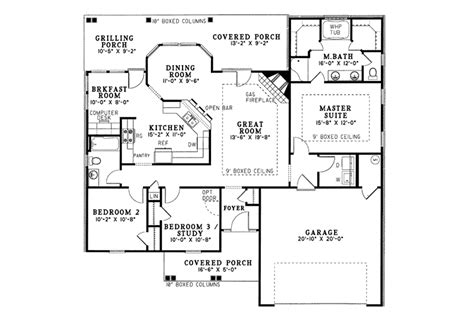 eastwood homes floor plans eastwood hill ranch home plan 055d 0017 house plans and more