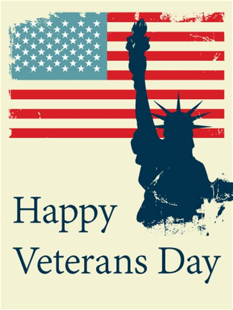 Happy Veterans Day To Army Soldier Free Greeting Card Template 14 happy quot veterans day cards quot 2018 printable greetings