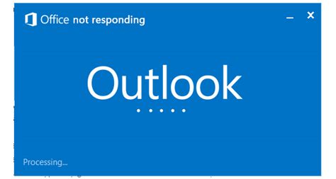 Outlook Not Searching Recent Emails Outlook Not Responding Reporter
